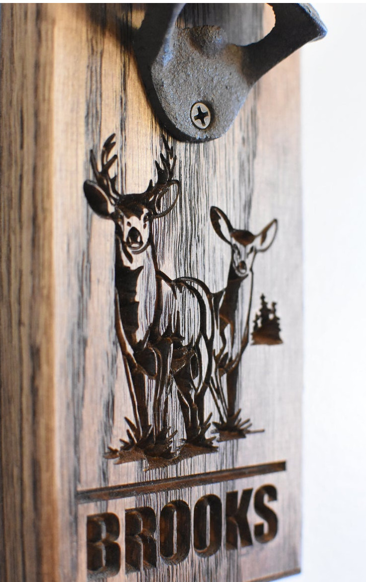 Deer Bottle Opener - Brooks Style