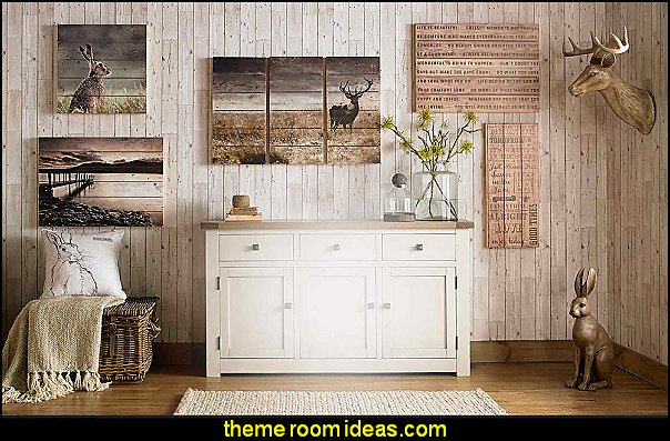Modern rustic and Natural  decorating style