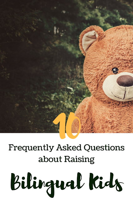 10 FAQs about raising bilingual kids written by a linguist and mother