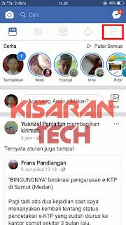 Menghapus Akun FB di Facebook Seluler
