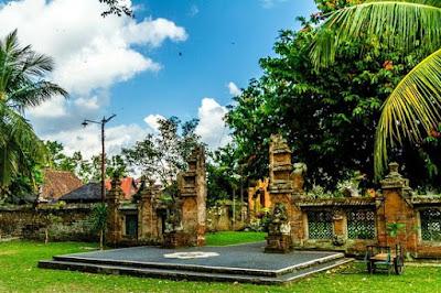 Keindahan Wisata Puri Anom Bali Lengkap Dengan Bagiannya