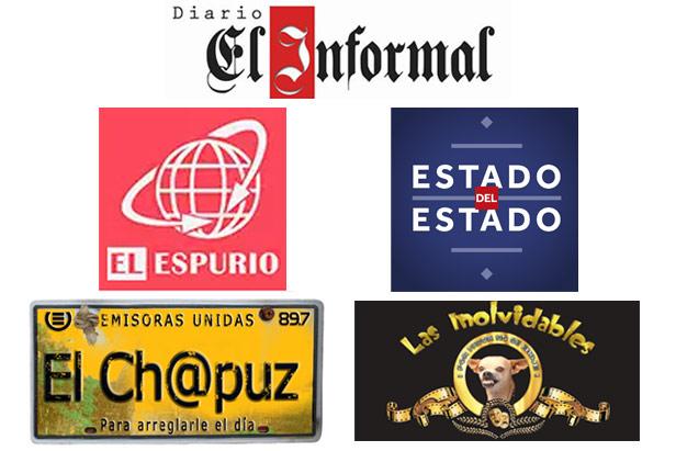 programas y sitios web de sátira y parodia en Guatemala