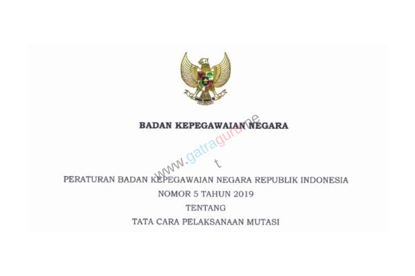 Peraturan BKN No 5 Tahun 2019