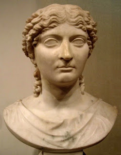 Agrippina the Younger, mother of Nero, who is thought to have ordered Claudius's murder