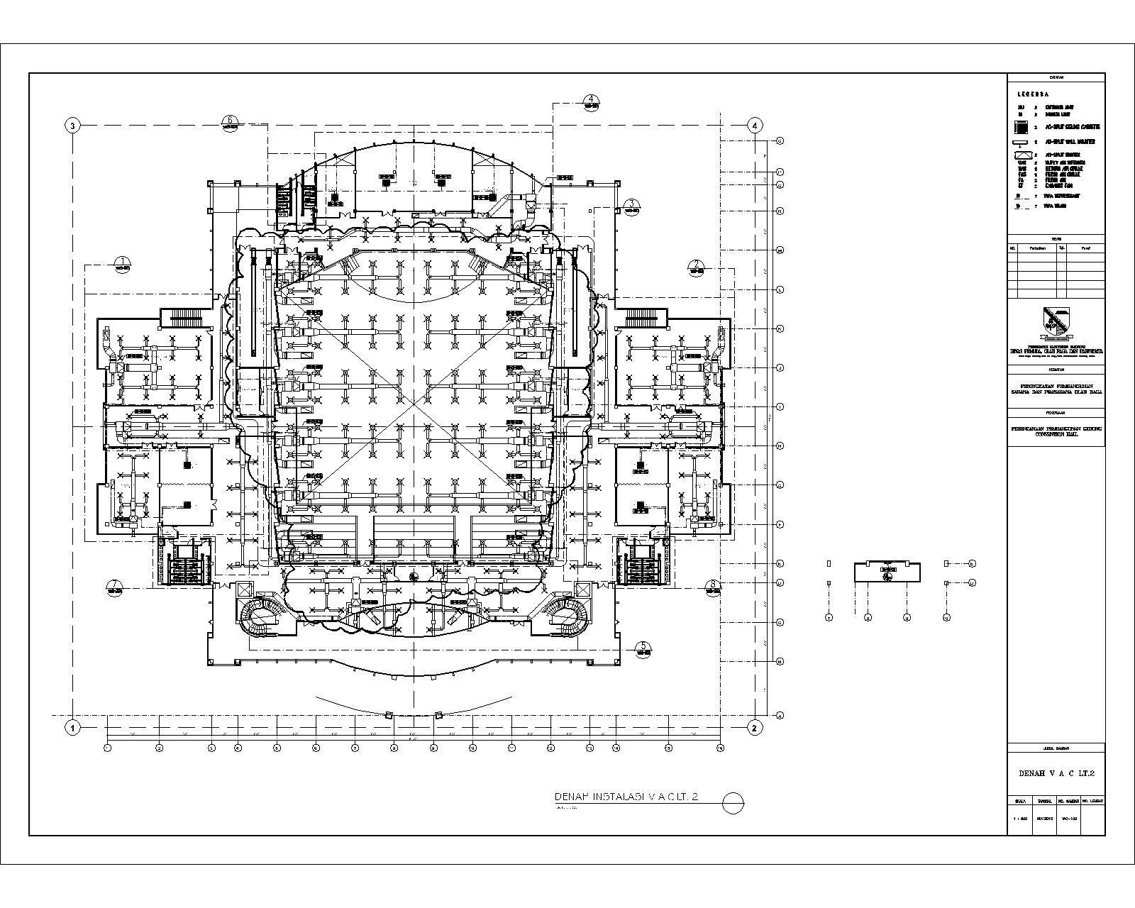 Mep Mekanikal Elektrikal Plambing Instalasi Hvac Gedung