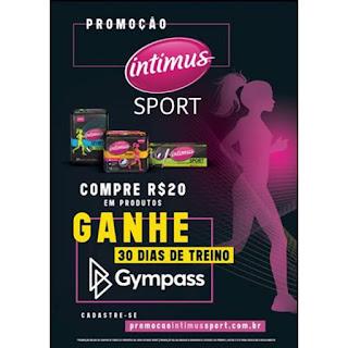 Promoção Intimus Sport