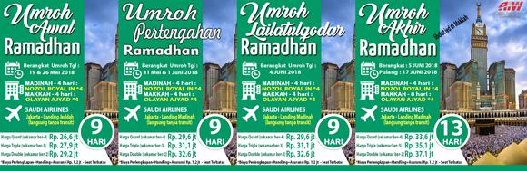 Keutamaan beribadah di bulan Ramadhan 2018