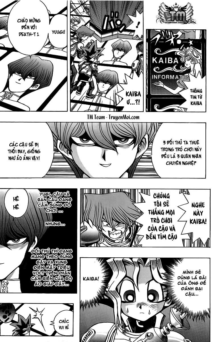 YUGI-OH! chap 29 - trận đấu sùng ảo trang 3