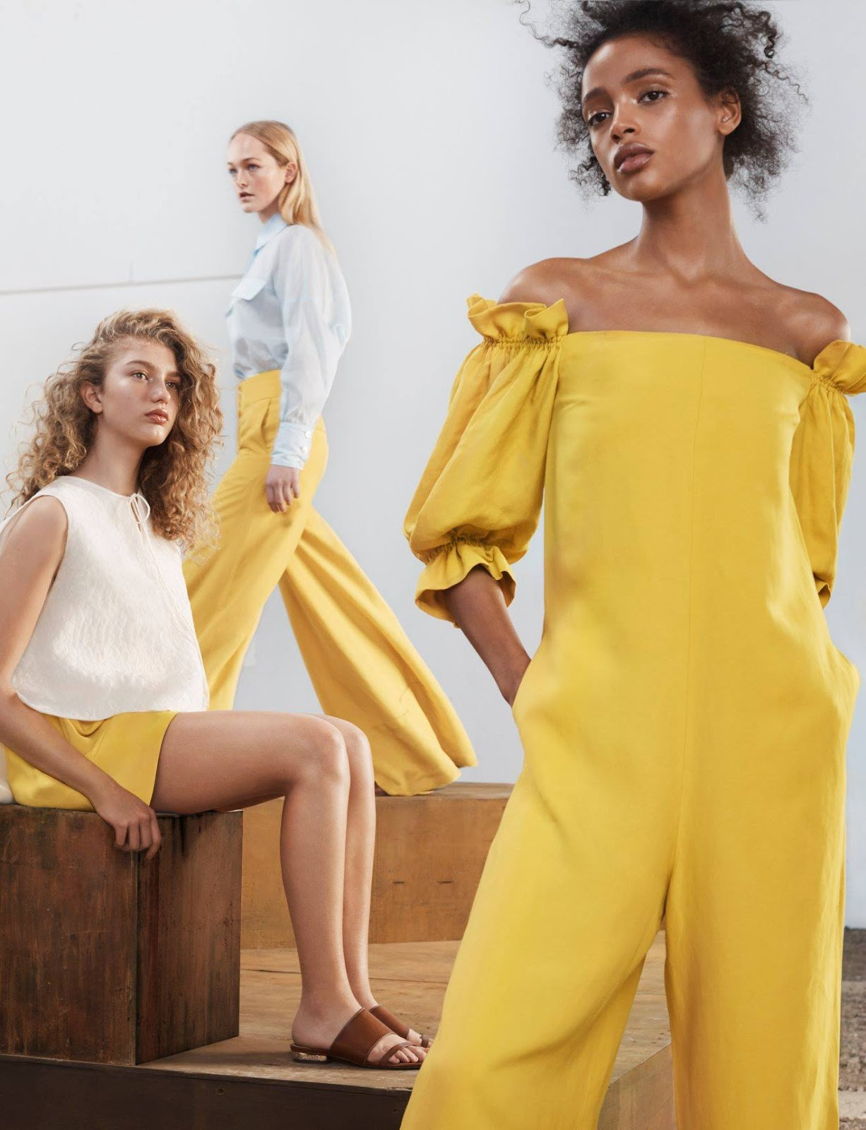 2018 Summer Dresses: Massimo Dutti Spring/Summer 2018 Campaign