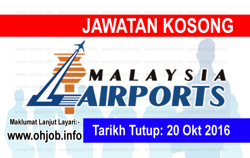 Jawatan Kerja Kosong Malaysia Airports (MAHB) logo www.ohjob.info oktober 2016