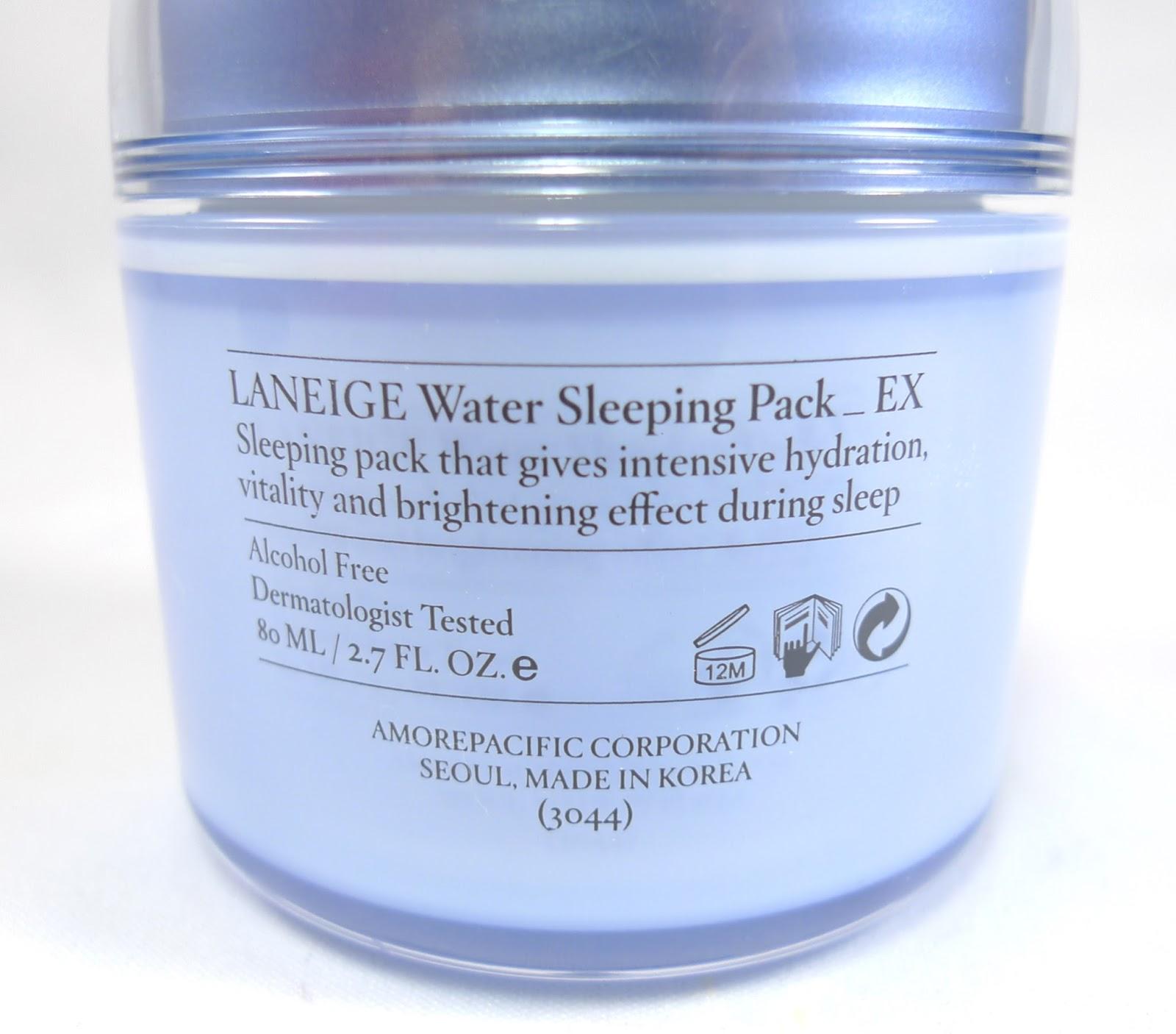 Water Sleeping Mask by Laneige #10