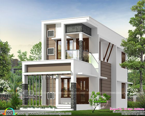 Small double storied house with 4 bedrooms