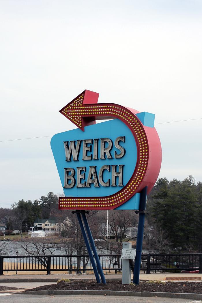 wiers beach sign