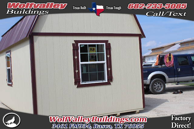 Wolfvalley Buildings Storage Shed Blog Deluxe Lofted