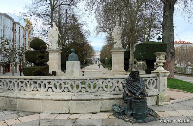 Paseo espolón de Burgos