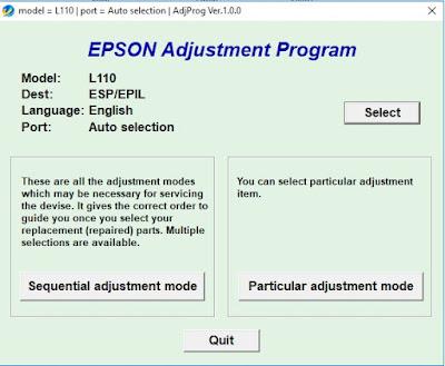Cara Paling Mudah Dan Efektif Reset Printer Epson L110 L120 L210