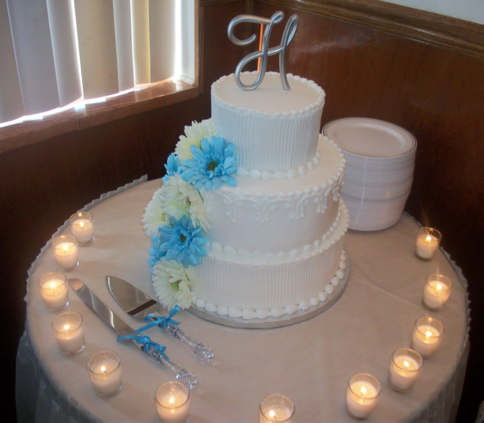 Walmart Tiered Wedding Cakes: Events By Tammy: Real Wedding: Lasheka & Donald