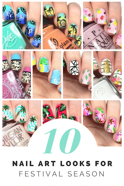 10 Nail Art Looks for Festival Season