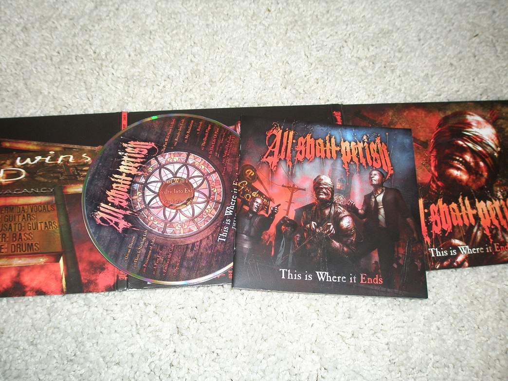 """ALL SHALL PERISH """"Awaken the Dreamers"""" Page AD magazine ...  