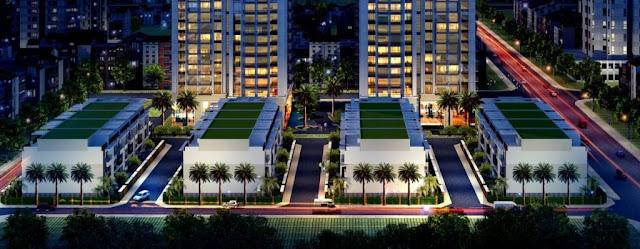 Phối cảnh liền kề dự án 82 Nguyễn Tuân - Thống Nhất Complex