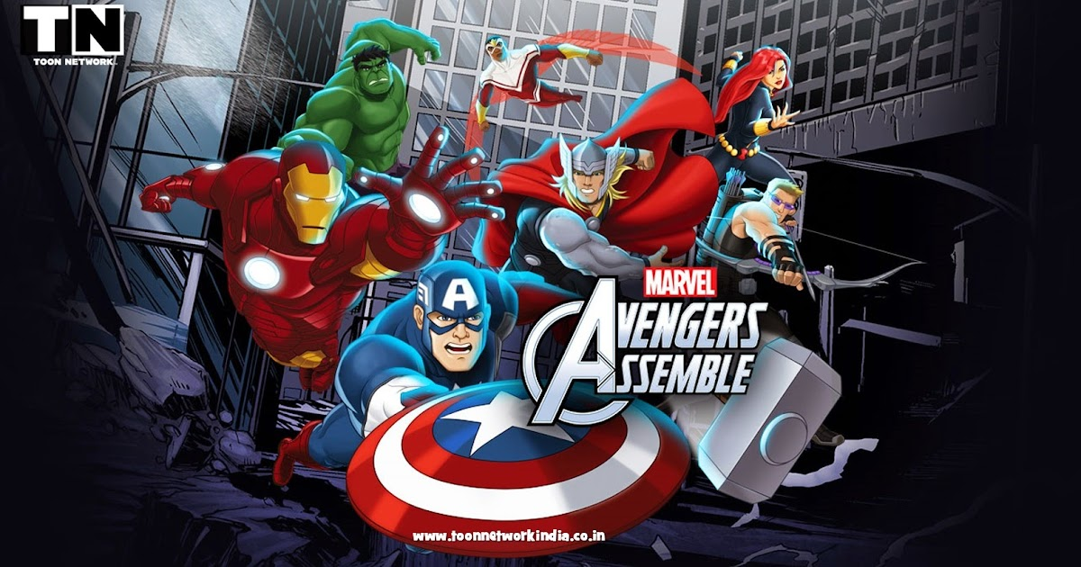 Avengers Assemble HINDI Season 2 Episodes [HD] - Toon