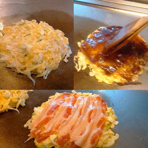 Okonomiyaki de chez Atsu Atsu