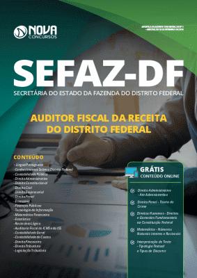 Apostila SEFAZ DF 2019 Auditor Fiscal da Receita Federal