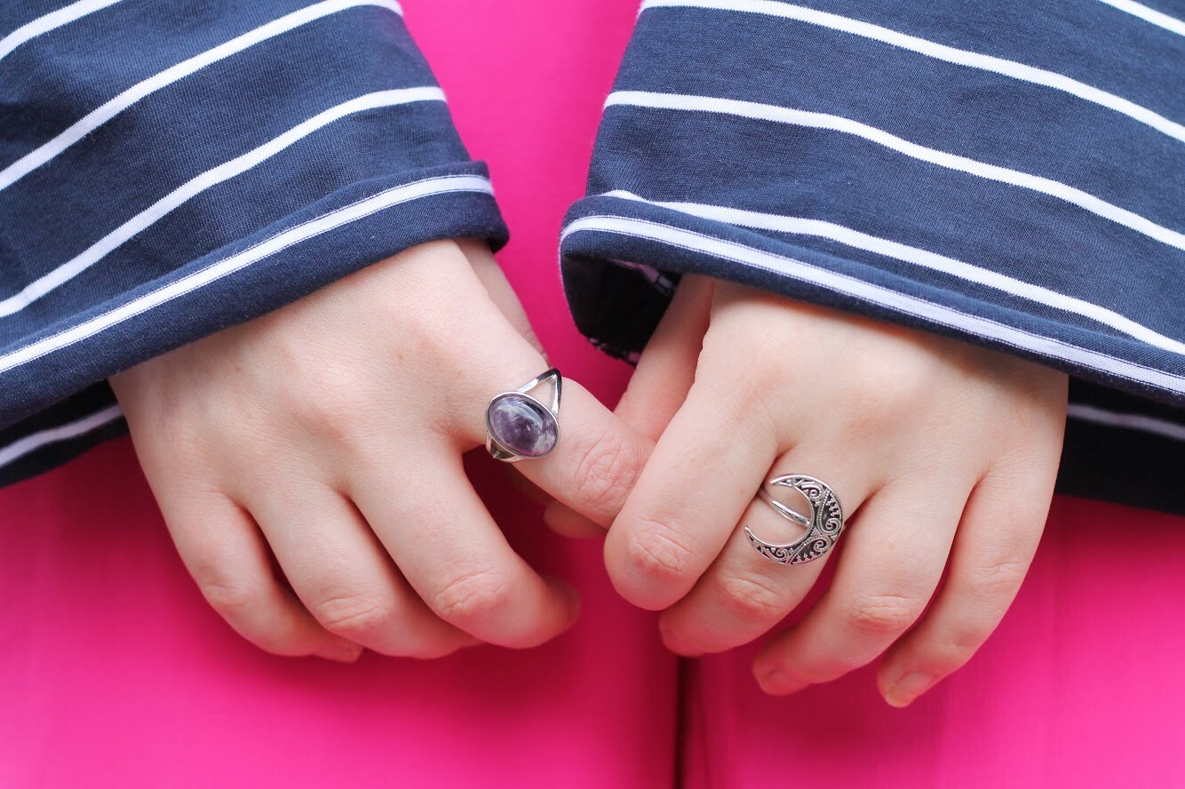 silver rings topshop and shop dixi