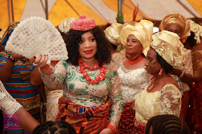 images Monalisa Chinda wedding