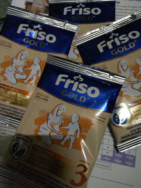 Dapat Sample Friso Gold