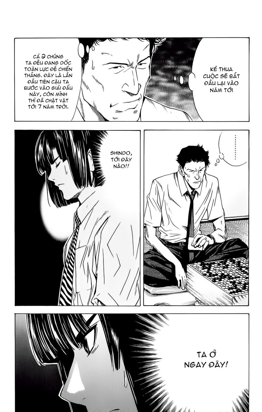 Hikaru No Go hikaru no go chap 139 trang 11