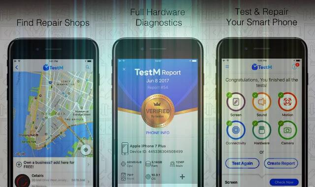 إكتشف الأخطاء والمشاكل الموجودة داخل أي هاتف اندرويد أو آيفون مع تطبيق TestM