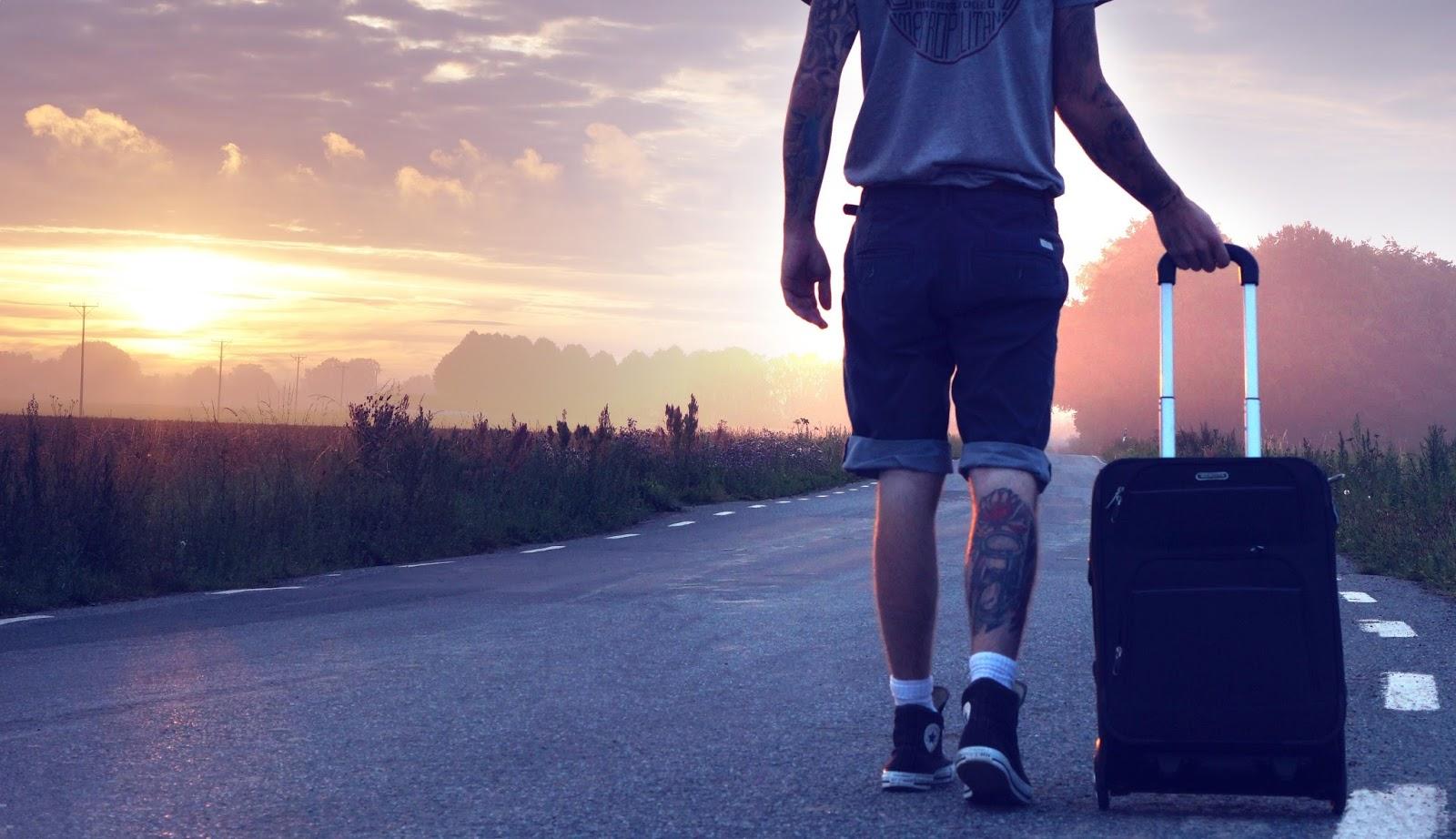 hiker travel trip wander 163688