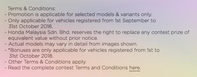 Promosi Beli Kereta Honda Dan Anda Mungkin Menang Sebuah Honda City