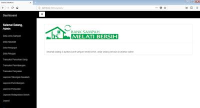 Aplikasi Administrasi Bank Sampah