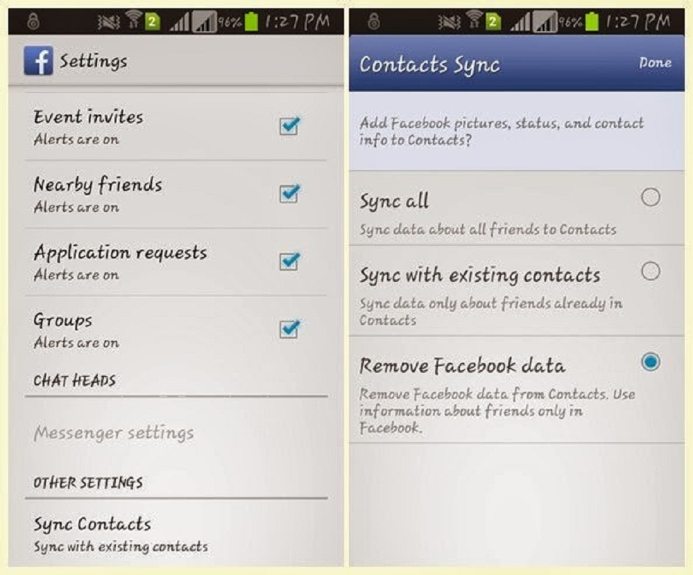 Phone How To Delete Contact On Android Phone How To Delete Facebook  Contacts From Android Phone