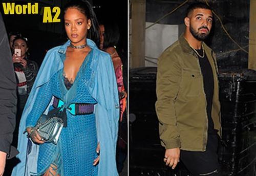Rihanna e Drake se emocionam com morte de fã