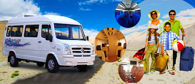 Hire Tempo Traveller on Rent in Delhi for winter vacations sightseeing Trips