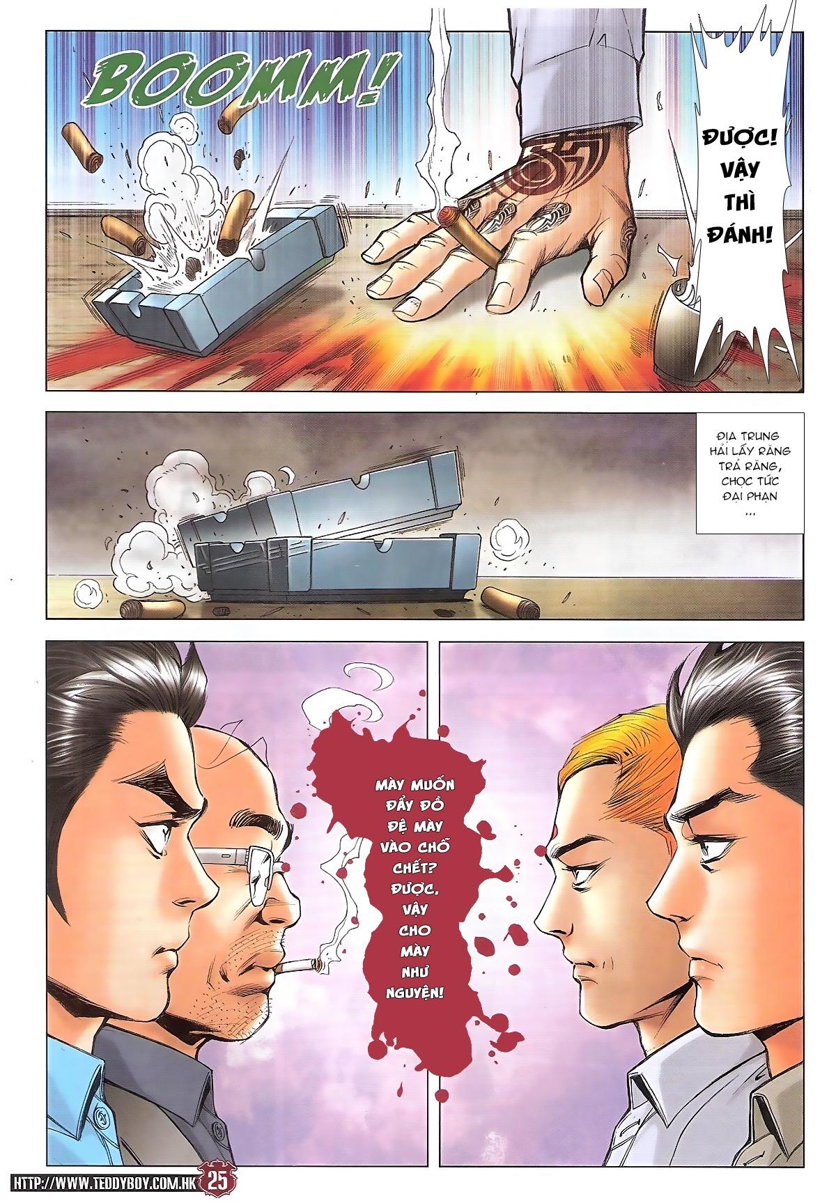 Người Trong Giang Hồ chapter 1746: đại phạn lên đĩa trang 22