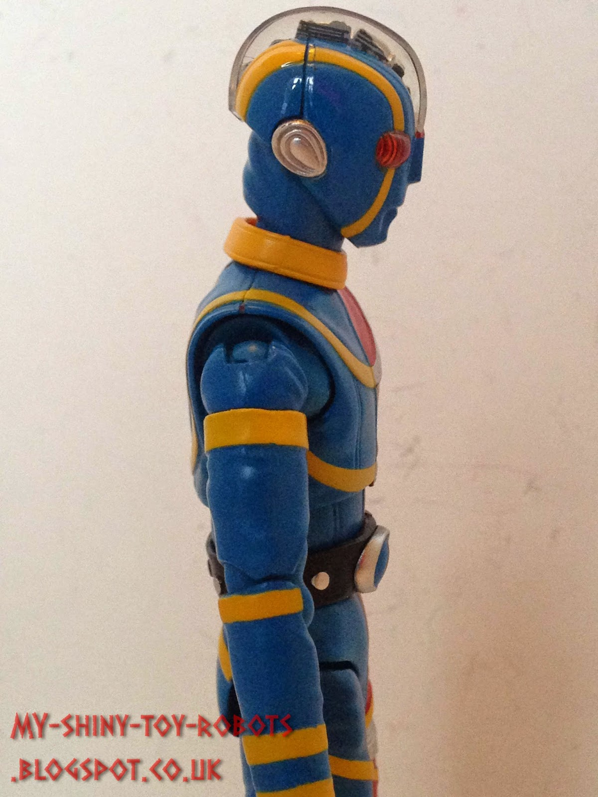 Kikaider's right side