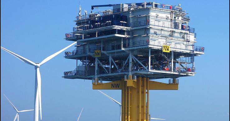 Energías Renovables Marinas: Subestaciones marinas