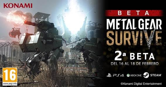 Metal Gear Survive expande beta y llega a PC