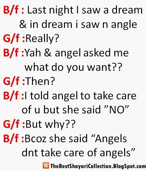 Romantic conversations with girlfriend