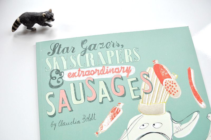 Star Gazers, Skyscrapers and extraordinary sausages book from the kid who