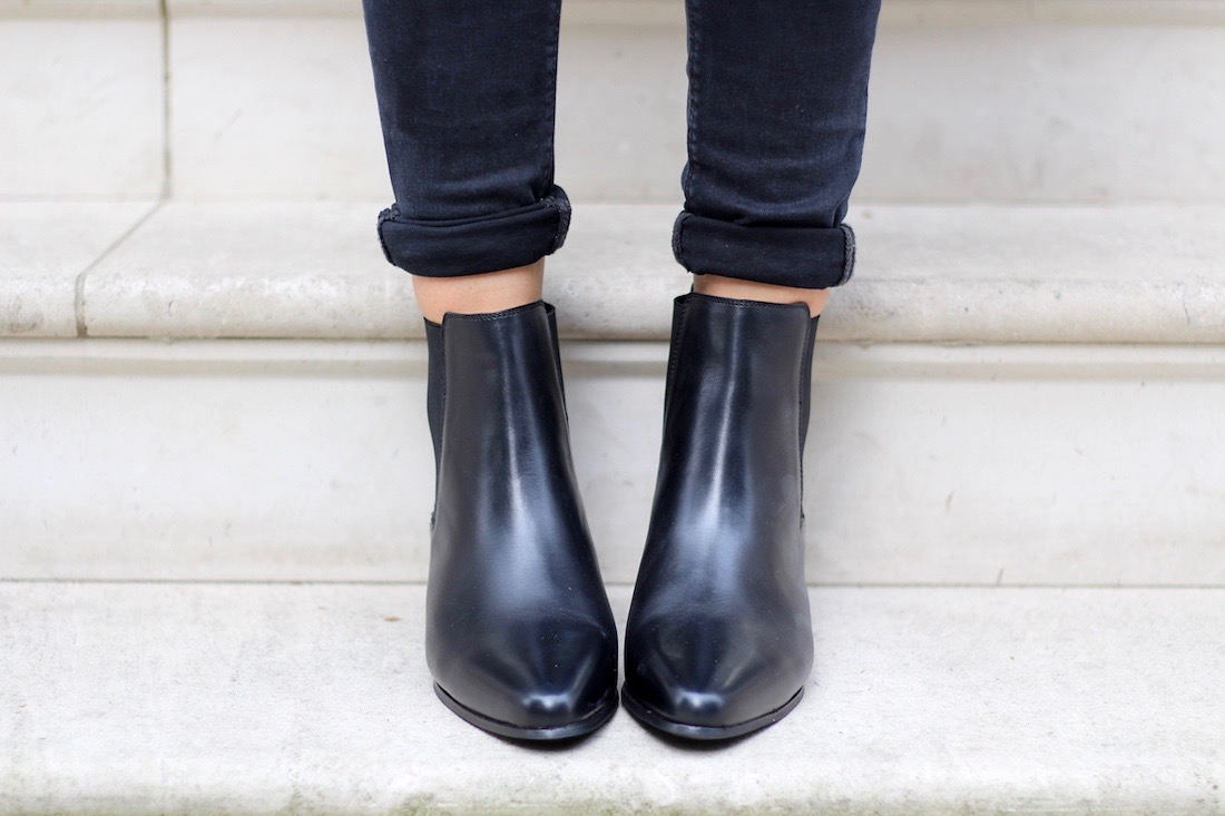 fairfax & favor leather ankle boots