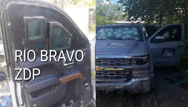 Fotografías: Así son las camionetas blindad del Cártel del Golfo que usan en los enfrentamientos en Tamaulipas