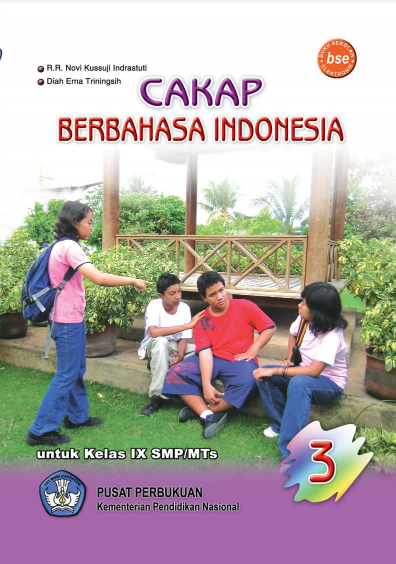 Download Buku Siswa KTSP SMP dan MTs Kelas 9 Cakap Berbahasa Indonesia