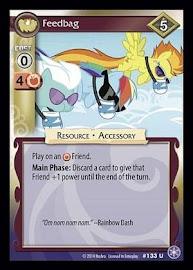 My Little Pony Feedbag The Crystal Games CCG Card