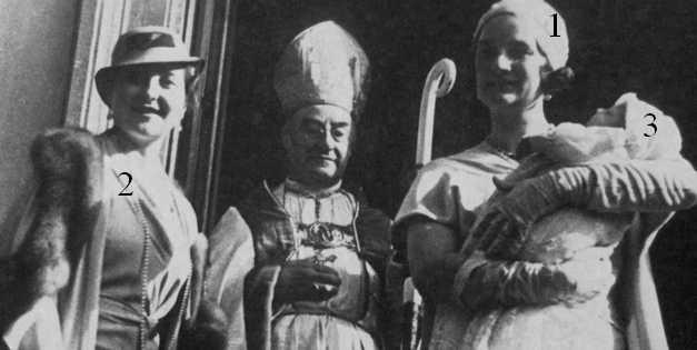 Baptême d'Hélène d'Orléans