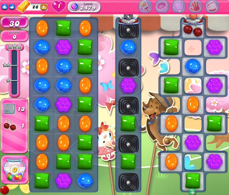 Candy Crush Saga level 2479